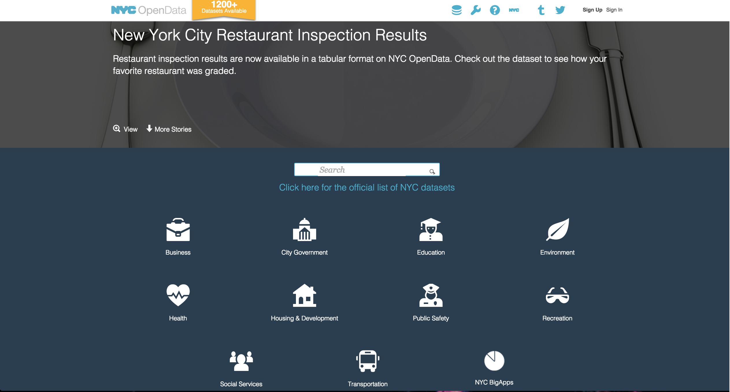 NYC Open Data: A Socrata API