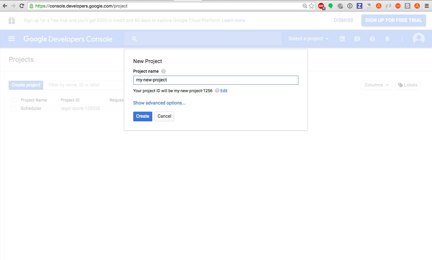Using The Google API Ruby Client with Google Calendar API